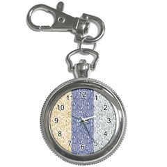 Flower Floral Grey Blue Gold Tulip Key Chain Watches