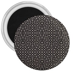 Modern Oriental Pattern 3  Magnets