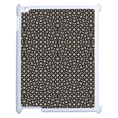 Modern Oriental Pattern Apple iPad 2 Case (White)