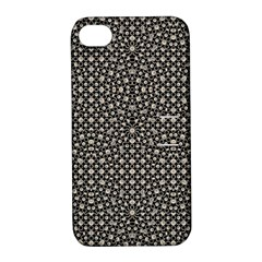 Modern Oriental Pattern Apple iPhone 4/4S Hardshell Case with Stand