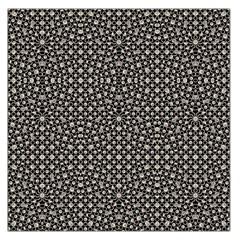 Modern Oriental Pattern Large Satin Scarf (Square)