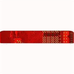 Computer Texture Red Motherboard Circuit Small Bar Mats