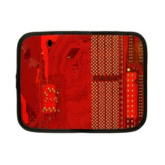 Computer Texture Red Motherboard Circuit Netbook Case (small)