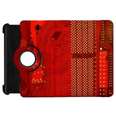 Computer Texture Red Motherboard Circuit Kindle Fire HD 7