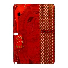 Computer Texture Red Motherboard Circuit Samsung Galaxy Tab Pro 12.2 Hardshell Case