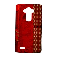 Computer Texture Red Motherboard Circuit Lg G4 Hardshell Case