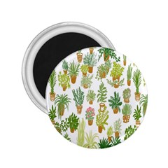 Flowers Pattern 2.25  Magnets