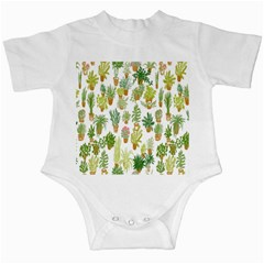 Flowers Pattern Infant Creepers