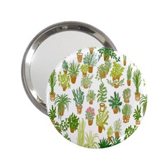 Flowers Pattern 2 25  Handbag Mirrors