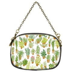 Flowers Pattern Chain Purses (Two Sides)