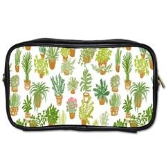 Flowers Pattern Toiletries Bags