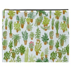 Flowers Pattern Cosmetic Bag (XXXL)