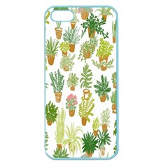 Flowers Pattern Apple Seamless iPhone 5 Case (Color)