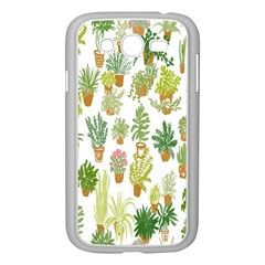 Flowers Pattern Samsung Galaxy Grand DUOS I9082 Case (White)