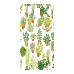 Flowers Pattern Samsung Galaxy Note 3 N9005 Hardshell Back Case