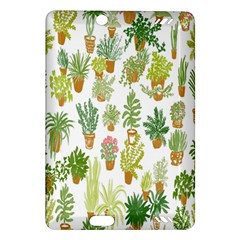Flowers Pattern Amazon Kindle Fire HD (2013) Hardshell Case