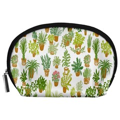 Flowers Pattern Accessory Pouches (Large)