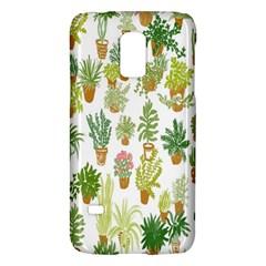 Flowers Pattern Galaxy S5 Mini