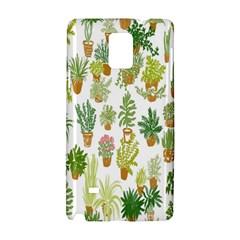 Flowers Pattern Samsung Galaxy Note 4 Hardshell Case