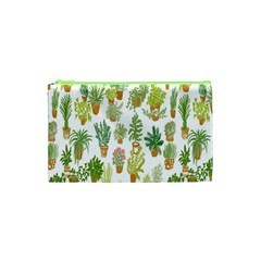 Flowers Pattern Cosmetic Bag (XS)
