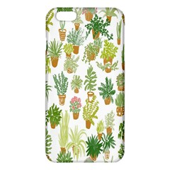 Flowers Pattern iPhone 6 Plus/6S Plus TPU Case