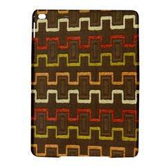 Fabric Texture Vintage Retro 70s Zig Zag Pattern Ipad Air 2 Hardshell Cases