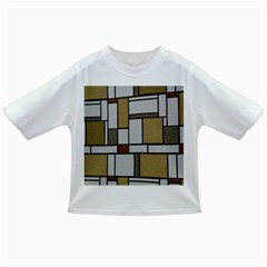 Fabric Textures Fabric Texture Vintage Blocks Rectangle Pattern Infant/toddler T Shirts