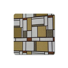Fabric Textures Fabric Texture Vintage Blocks Rectangle Pattern Square Magnet