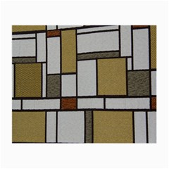Fabric Textures Fabric Texture Vintage Blocks Rectangle Pattern Small Glasses Cloth