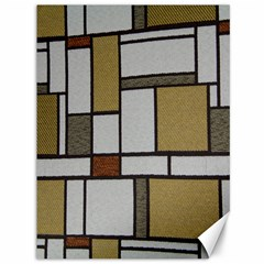 Fabric Textures Fabric Texture Vintage Blocks Rectangle Pattern Canvas 36  x 48
