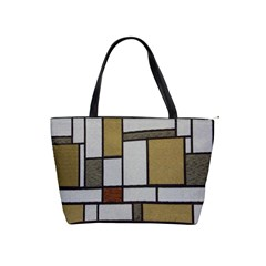 Fabric Textures Fabric Texture Vintage Blocks Rectangle Pattern Shoulder Handbags