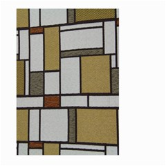 Fabric Textures Fabric Texture Vintage Blocks Rectangle Pattern Large Garden Flag (two Sides)