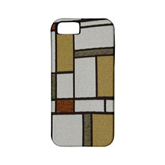 Fabric Textures Fabric Texture Vintage Blocks Rectangle Pattern Apple Iphone 5 Classic Hardshell Case (pc+silicone)