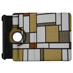 Fabric Textures Fabric Texture Vintage Blocks Rectangle Pattern Kindle Fire Hd 7