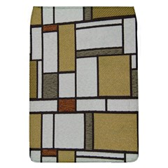 Fabric Textures Fabric Texture Vintage Blocks Rectangle Pattern Flap Covers (l)