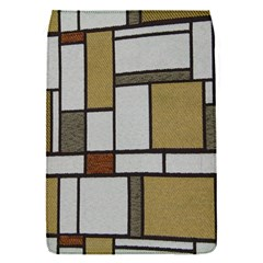 Fabric Textures Fabric Texture Vintage Blocks Rectangle Pattern Flap Covers (s)