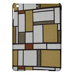 Fabric Textures Fabric Texture Vintage Blocks Rectangle Pattern iPad Air Hardshell Cases