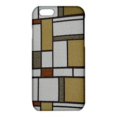 Fabric Textures Fabric Texture Vintage Blocks Rectangle Pattern iPhone 6/6S TPU Case