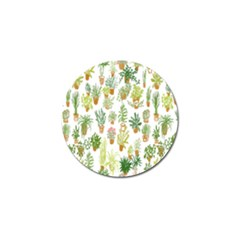 Flowers Pattern Golf Ball Marker (10 Pack)