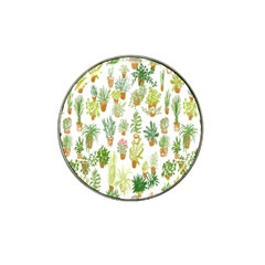Flowers Pattern Hat Clip Ball Marker (10 pack)