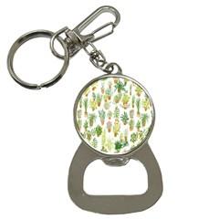 Flowers Pattern Button Necklaces