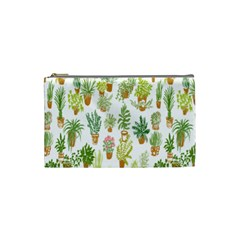 Flowers Pattern Cosmetic Bag (Small)