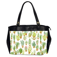 Flowers Pattern Office Handbags (2 Sides)