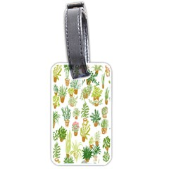 Flowers Pattern Luggage Tags (one Side)