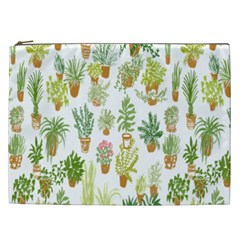 Flowers Pattern Cosmetic Bag (XXL)