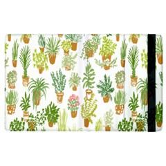 Flowers Pattern Apple iPad 2 Flip Case
