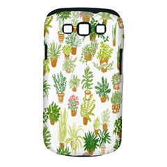Flowers Pattern Samsung Galaxy S III Classic Hardshell Case (PC+Silicone)