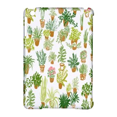 Flowers Pattern Apple iPad Mini Hardshell Case (Compatible with Smart Cover)