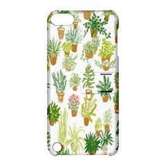 Flowers Pattern Apple iPod Touch 5 Hardshell Case with Stand