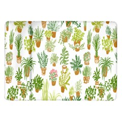 Flowers Pattern Samsung Galaxy Tab 10 1  P7500 Flip Case